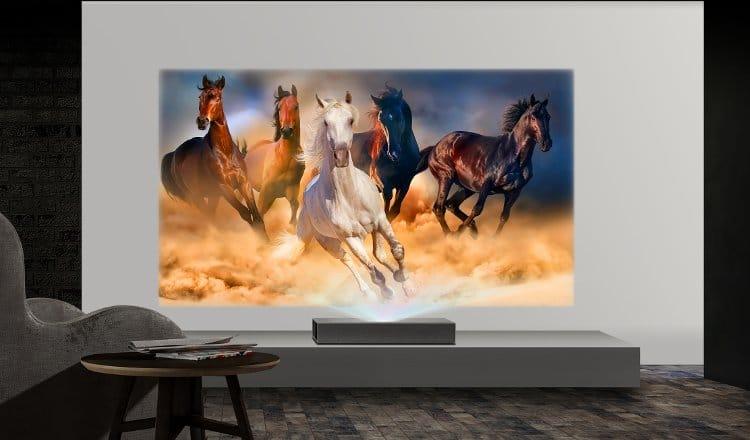 lg hu85l 4k uhd projector