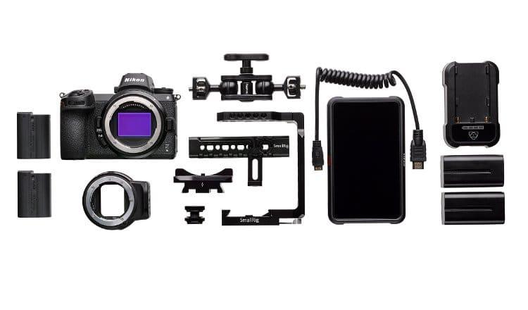 Τo βασικό kit video Nikon Z 6