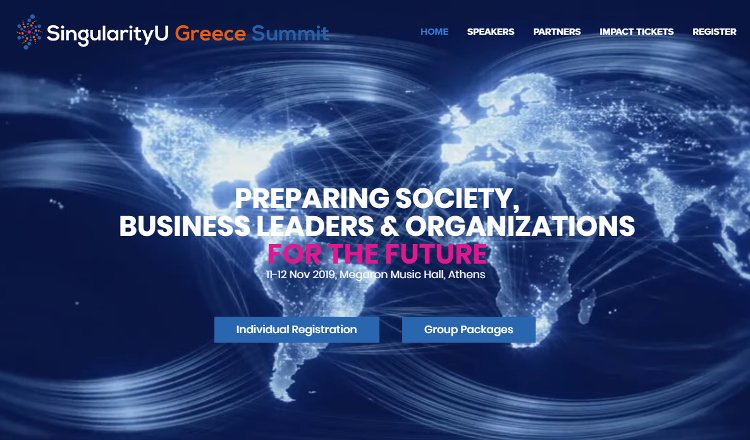 SingularityU-Greece Summit 2019
